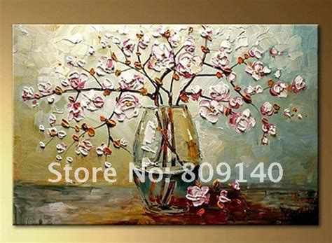 Handmade Home Decorations by Beautiful Flower In The Water Painting Canvas High