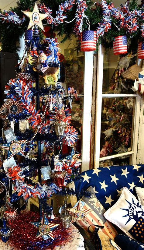 27 best decorated patriotic christmas tree images on