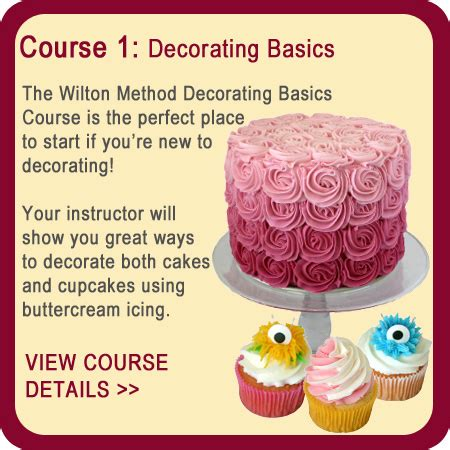 Wilton Cake Decorating Classes by Wilton Cake Decorating Courses Milly S Kitchenware