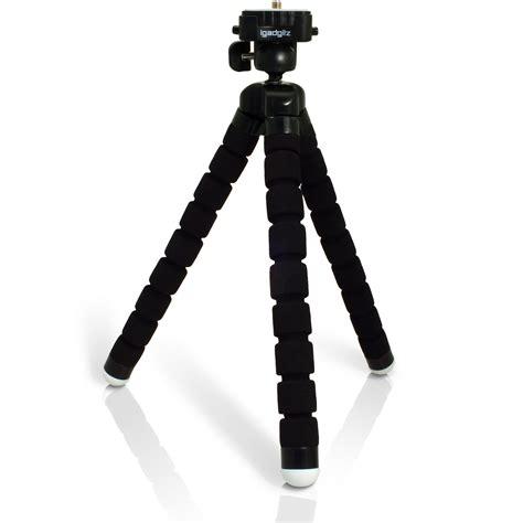 Tripod Mini Softpod Lightweight Black Y3377 igadgitz lightweight large universal foam mini tripod for slr dslr cameras with