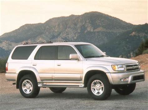 blue book used cars values 2001 toyota 4runner electronic toll collection 2001 toyota 4runner limited sport utility 4d pictures and videos kelley blue book