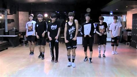 tutorial dance bts no more dream bts n o mirrored dance practice youtube
