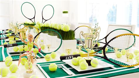 tennis themed events tennis theme party wimbledon party