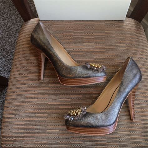 coach high heel shoes 47 coach shoes coach high heel shoes euc size 7 1 2