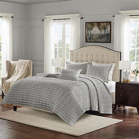 bed bath and beyond chandler bombay 174 chandler charmeuse pleated coverlet set bed bath