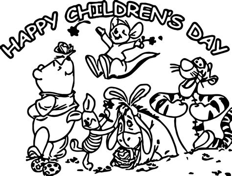 coloring pages of children s day happy childrens day animal kingdom graphic free coloring