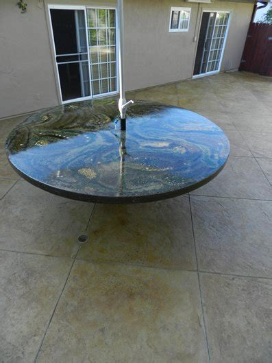 Cement Patio Tables Photo Gallery Outdoor Furniture Laguna Niguel Ca The Concrete Network