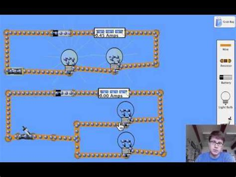 resistors in series and parallel animation science physics series and parallel circuits
