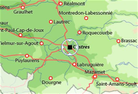 castres map apartment in castres rentals tarn available for