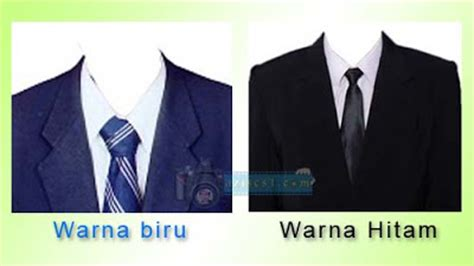 cara edit foto pakai jas photoshop template jas atau pakaian kantor untuk pas foto blog