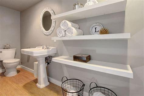 Bathroom Open Wall Shelves Small Bathroom Ideas Vanity Storage Layout Designs