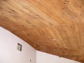 Plank Board Ceiling Update Wood Plank Ceilings