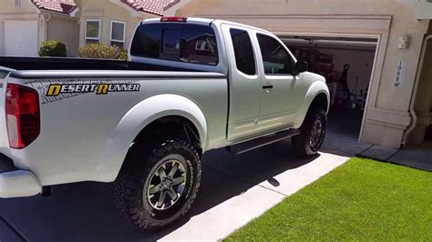 nissan frontier 6 inch lift kit 2016 nissan frontier 6 quot fabtech lift with 1 5 quot wheel
