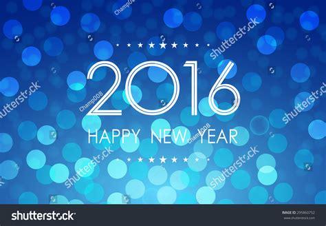 happy new year 2016 polka dots stock vector 295860752