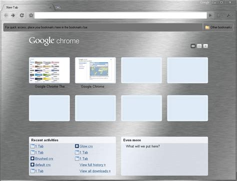 chrome night theme google chrome themes gallery live
