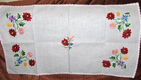 design ideas napkins hand embroidered tablecloths embroidery designs