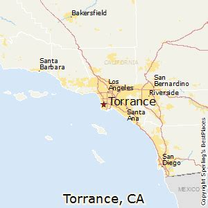 torrance california map best places to live in torrance california