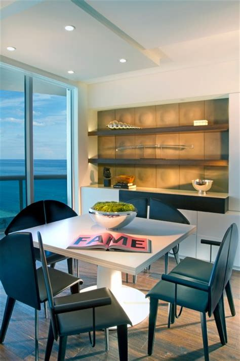 Modern Dining Room Miami Contemporary Dining Room Miami By