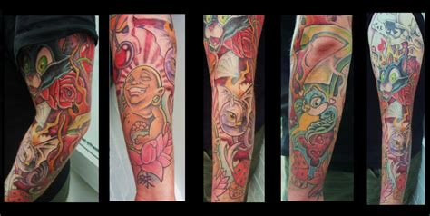 new skool tattoo new skool sleeve by tatt00hq on deviantart