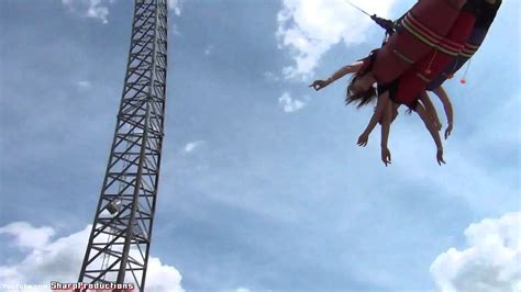 wonderland swing ride xtreme skyflyer off ride canada s wonderland youtube