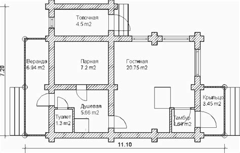 russian house plans custom log house sauna or russian banya project floor plan from a custom log 6x11