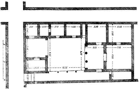 plan of house priene