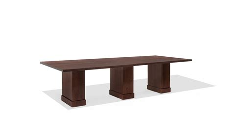 8ft 24ft modular espresso conference table tbl013963
