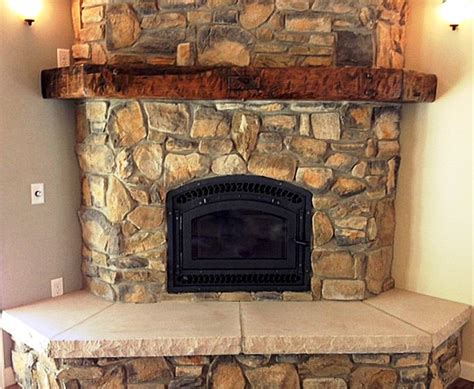 rustic fireplace rustic fire place home design