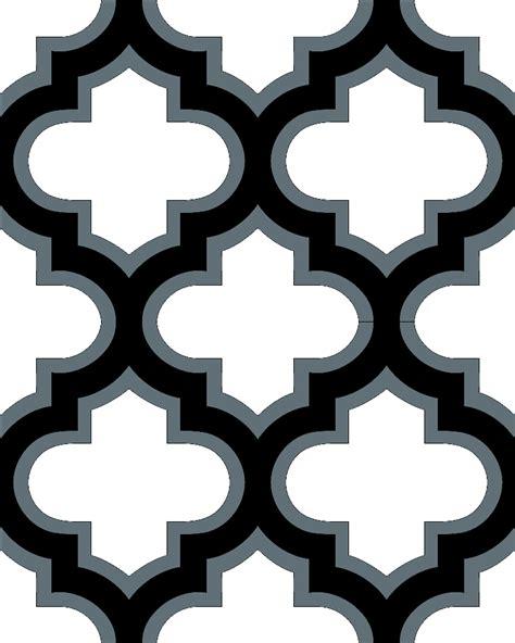 moroccan tile template moroccan border clipart 16