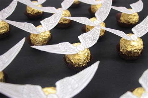 golden snitch wings template how to make ferrero rocher golden snitches