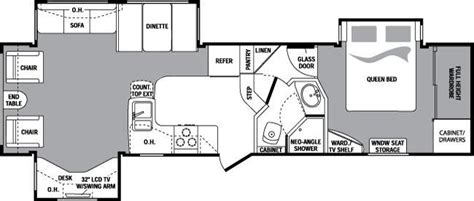2006 keystone cougar floor plans 2010 keystone cougar 318sab fifth wheel indianapolis in