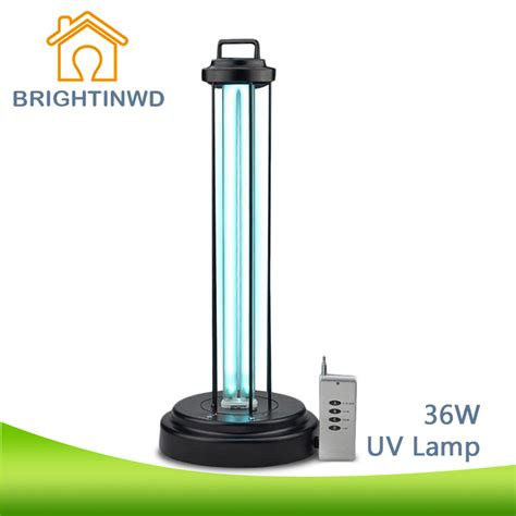 Germicidal Uv Light Fixtures Uv L Mobile Ultraviolet Germicidal L With Remote 36w 220v Uv Bulb Disinfection