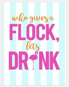 Birds Of A Feather Drink Together With This Girlie Flask by 1000 Images About Flamingo Ideas On