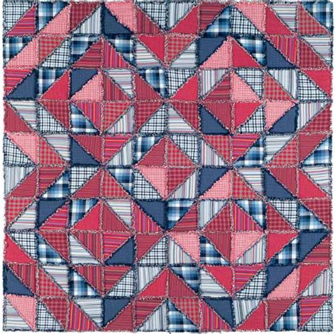 free pattern rag quilt zig zag rag quilt free pattern robert kaufman fabric company