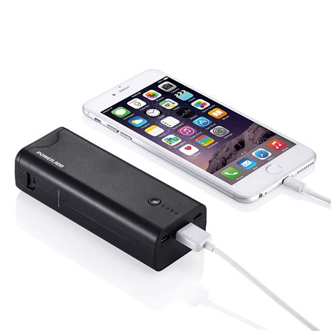 Charger Iphone 5 5s 6 10 5200mah portable backup external battery charger power