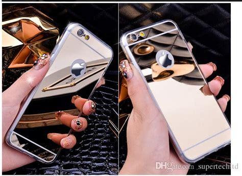 Softcase Ultrathin List Chrome Apple Iphone 6 6s 4 7 In Diskon for iphone 7 7plus note 7 mirror electroplating