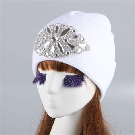 Luxe To Less Winter Hats Up 1 The Bag by Mink Fox Winter Hat Cap Knitted Crochet