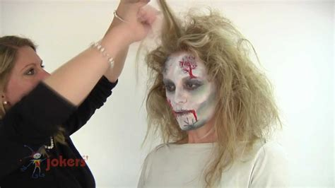 girl zombie hairstyles how to make a zombie costume youtube