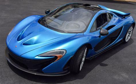 cerulean blue mclaren p1 on sale for 2 3 million