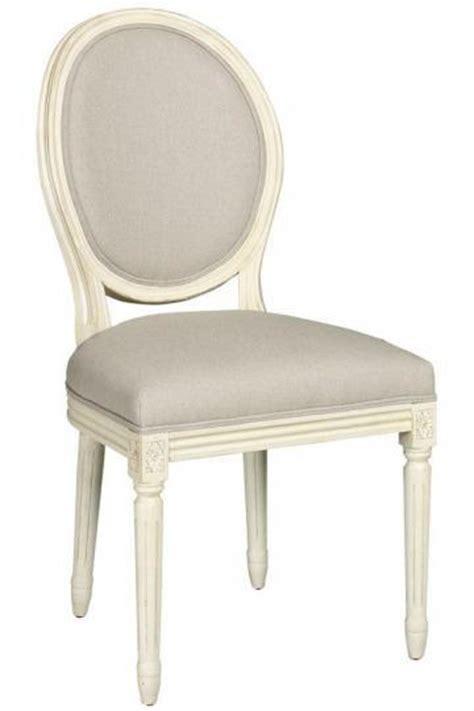 ballard designs louis xvi oval  side chair