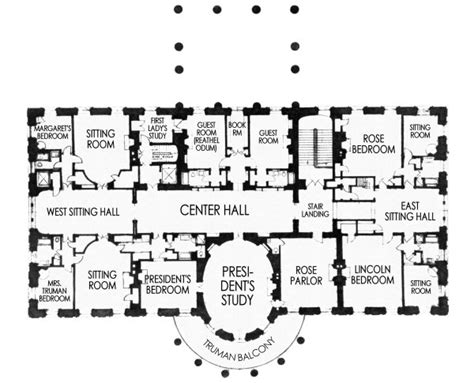 the white house maplets white house second floor map house plan 2017