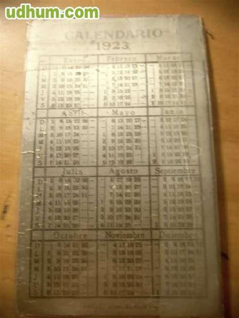 Calendario De 1923 Calendario Antiguo De 1923