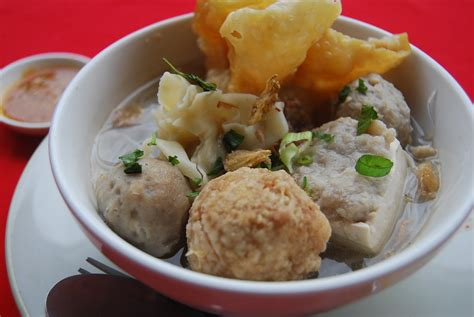 bakso meatballs indonesia resep makanan indonesia