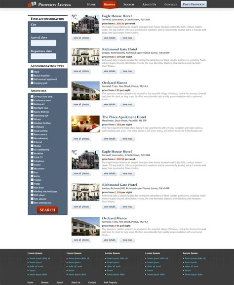 templates for real estate website free download real estate website template free real estate web