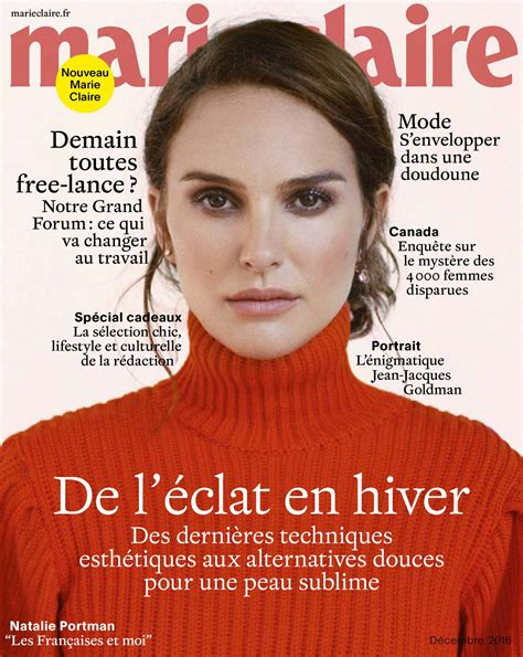 Natalie Portman April Issue Of Magazine by Natalie Portman Magazine December