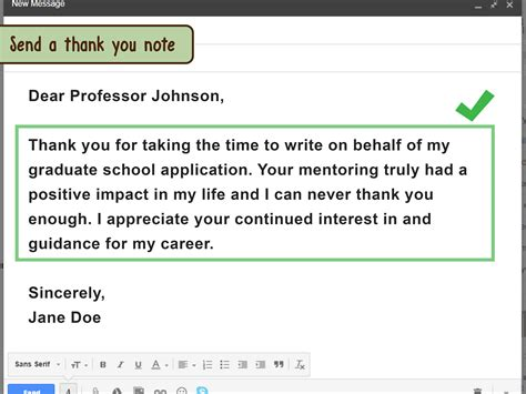 email your professor