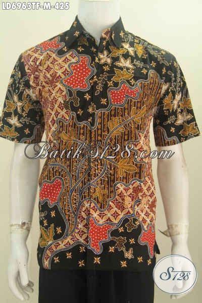 Celana Pendek Motif Pria Premium kemeja batik masa kini hem batik lengan pendek premium