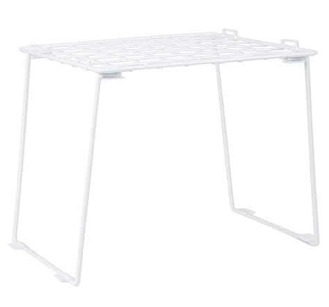 Five Stackable Locker Shelf by Stackable Locker Shelf White In Locker Organizers