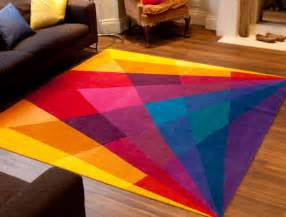 Rainbow Area Rug Rainbow Rug Eclectic Area Rugs By Sonya Winner Vibrant Contemporary Rugs