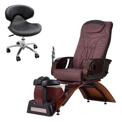 No Plumbing Pedicure Spa by No Plumbing Pedicure Spa Chair Continuum Simplicity Le Plus